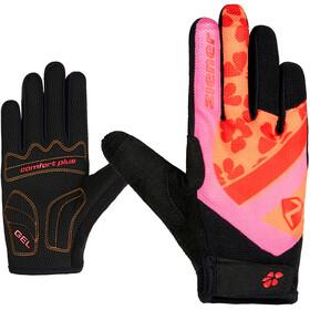 Ziener Colja Long Bike Gloves Kids, pink dahlia
